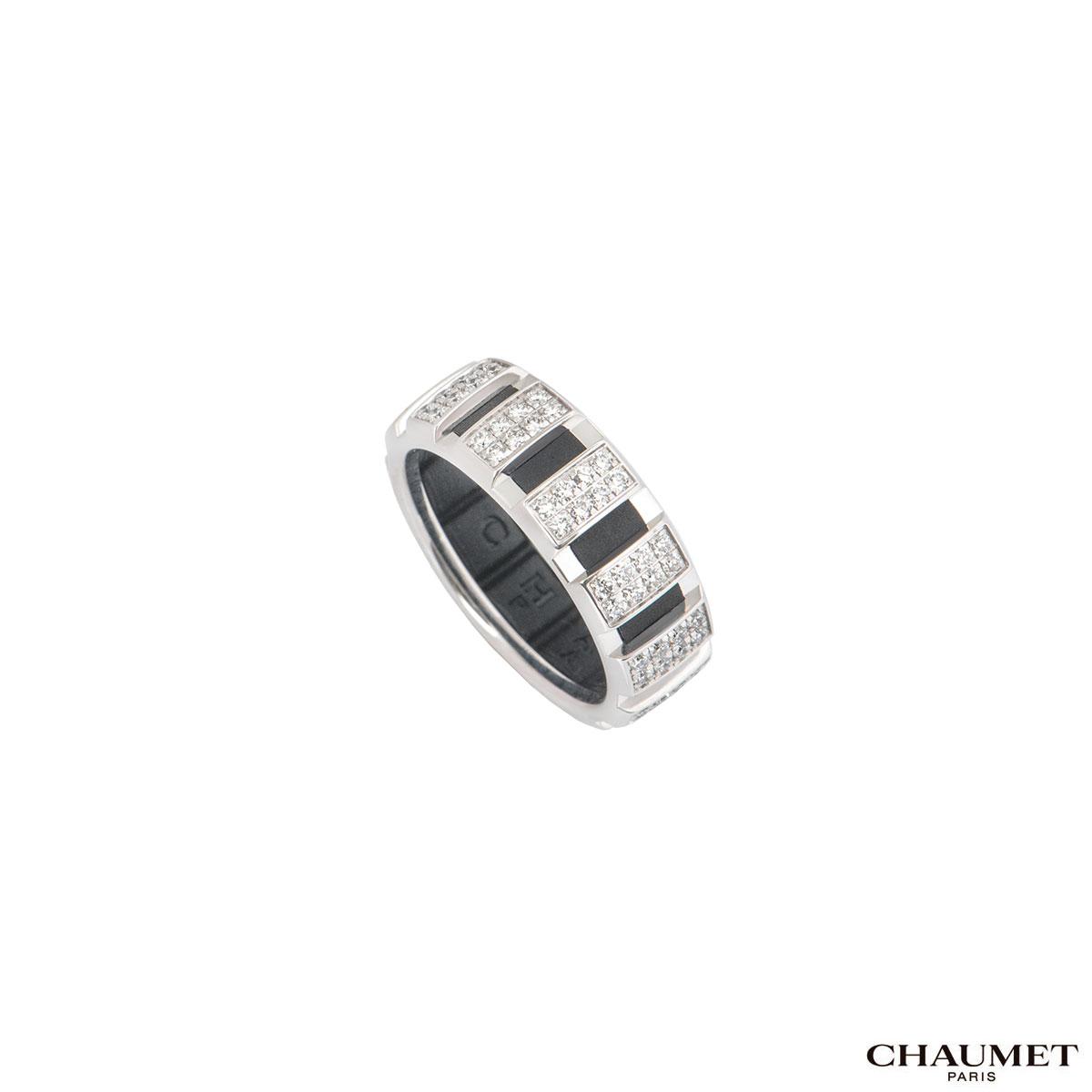 Chaumet White Gold Diamond Class One Ring